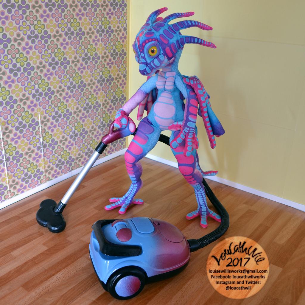 Bubblegum Vacuuming 001