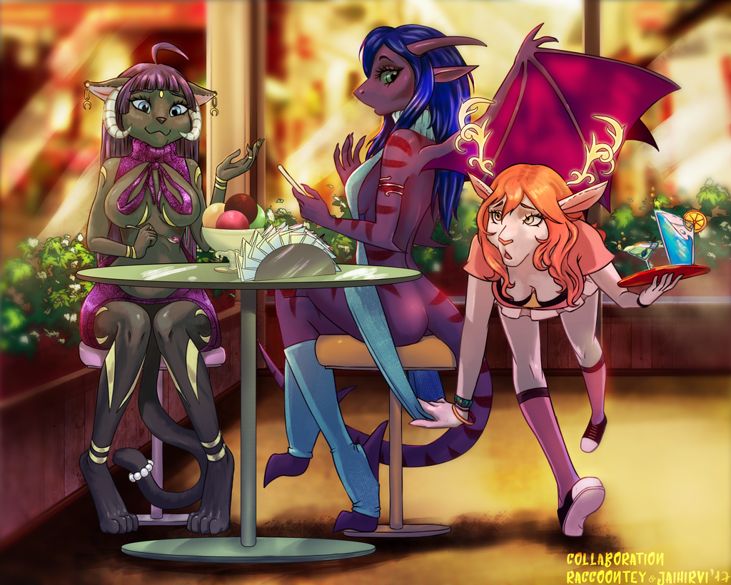 Most recent image: Confusion at the diner [y][c]