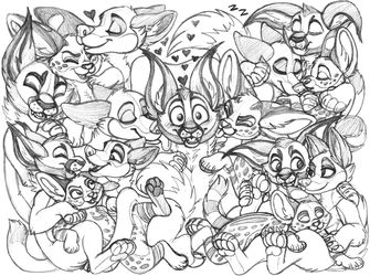 floatingliights sketchpage commission (cuddles)