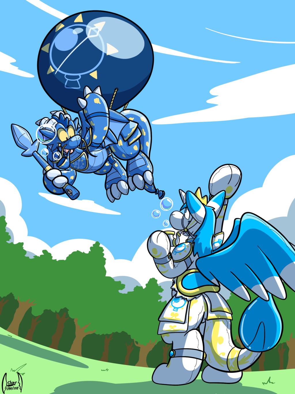 Curus Keel's Magical Balloon Journey (SoulSilver)