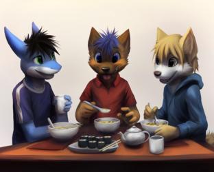 [Commission] Miso Soup