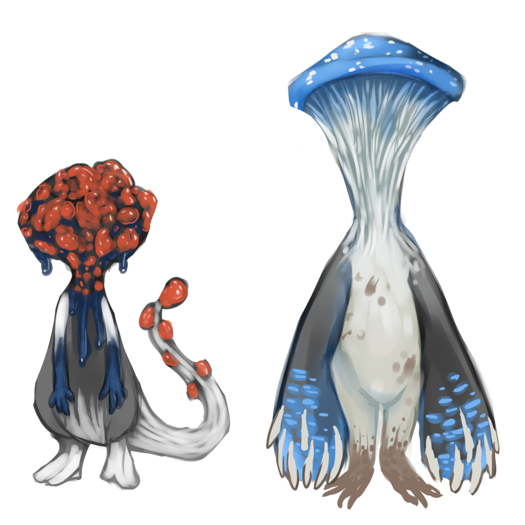Most recent image:  Mushroom adoptables (open)