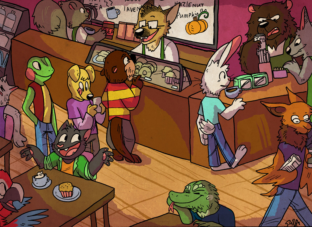 Most recent image: furry cafe