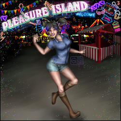 Tara at Pleasure Island (Page 1 of 3)