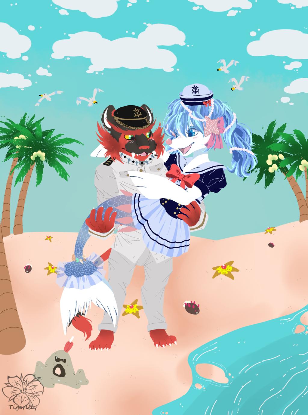 KeahixHaupia sailor outfits ::Gift Art::