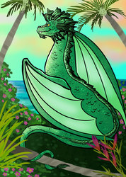 Tropical Dragon- Limited Edition Print