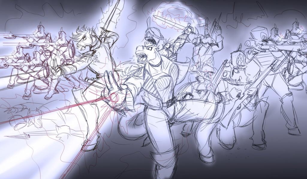 Demonus Battle Sketch