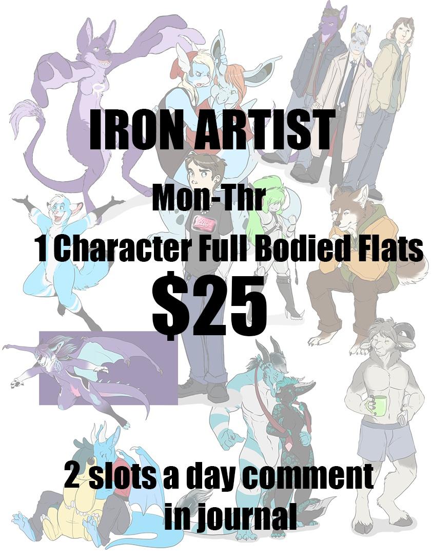 STREAMING IRON ARTIST STARTING AT $10 - $25