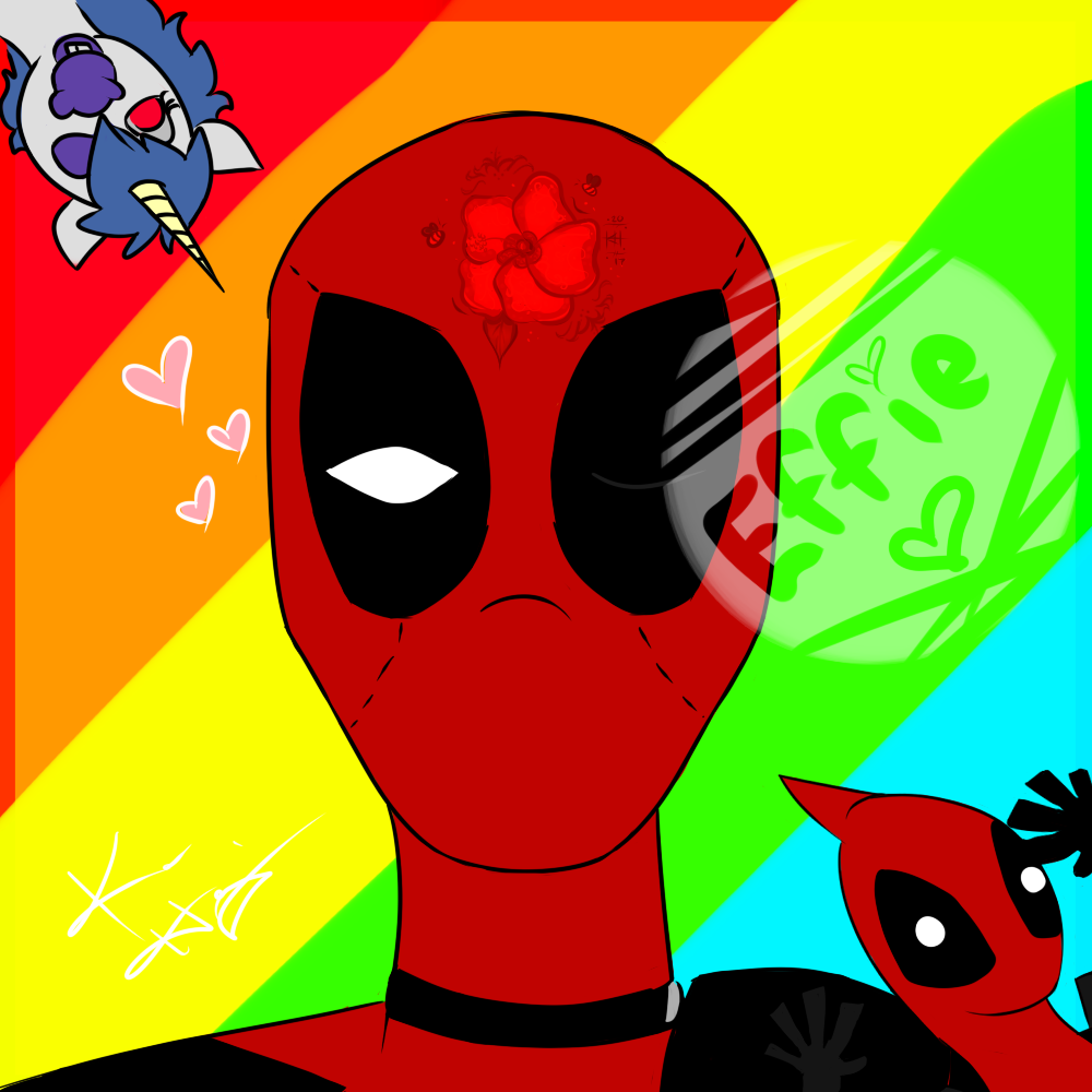 With Love, from Captain Deadpool