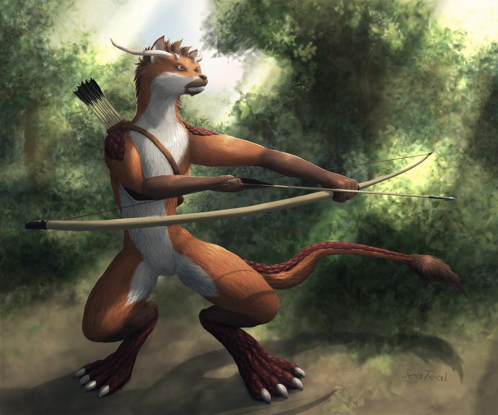 (Comm.) Lizard-Fox Archer