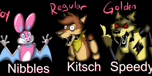 FIVE NIGHTS AT FREDDYS BADGES examples