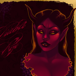 (COMM) Wine Label: Diablo Rojo