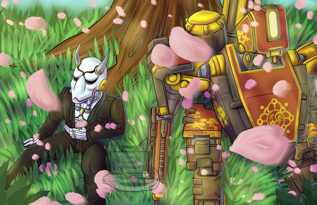 Among the Blossoms [Omnic Zine]