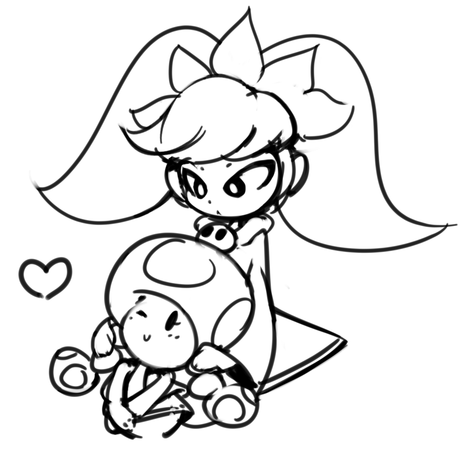 Ashley and Toadette
