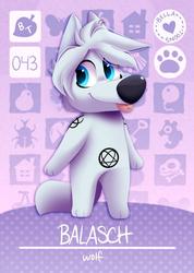 Animal Crossing Balasch, by Bellatoons