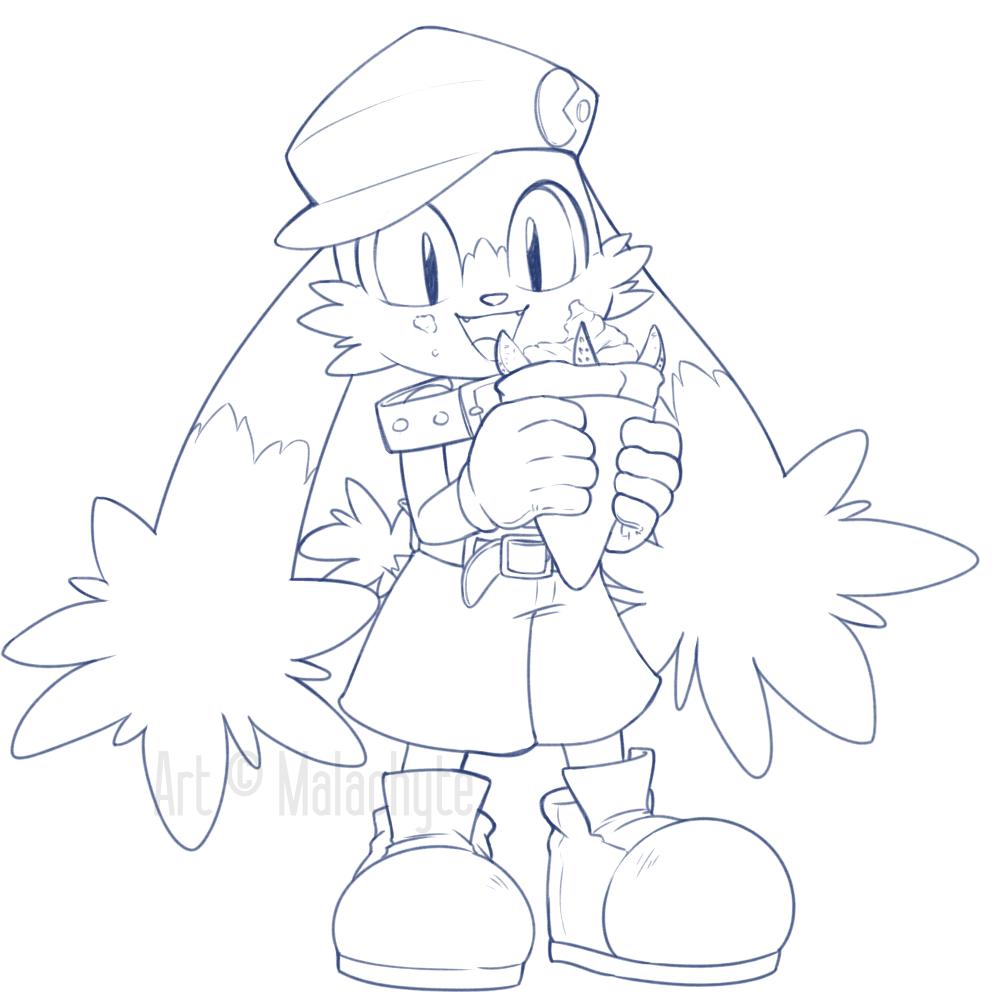 Klonoa's Parfait Crepe
