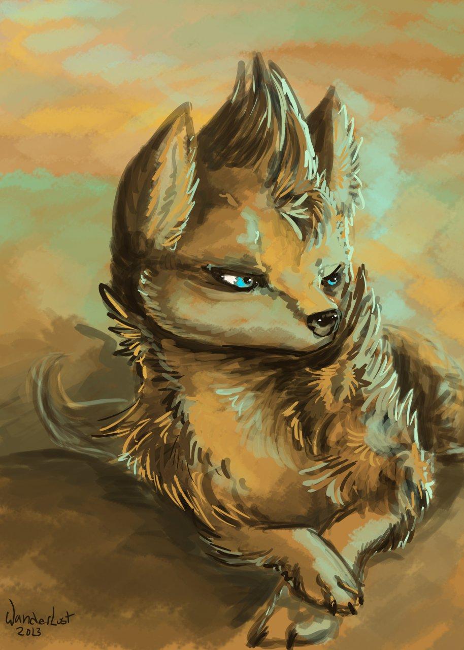 Speed Sketch: Sand Dog