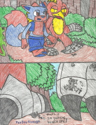 Konogo and Justin's Forest Stroll~