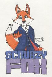 Scrubzy Fox Badge - 8/20/2015