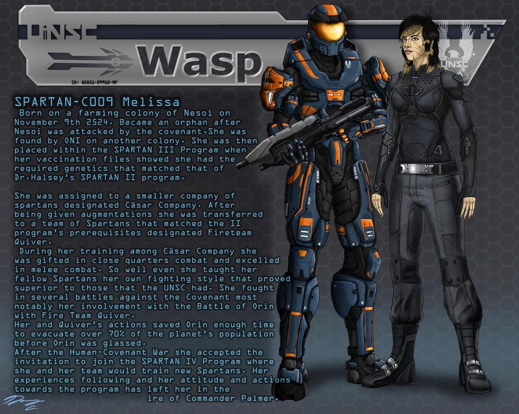 Halo- FireTeam QUIVER Data File: Quiver Wasp