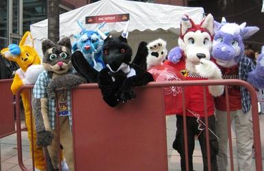 Mascot Parade 2012 - Group Shot