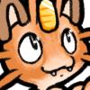 orange tabby meowth!
