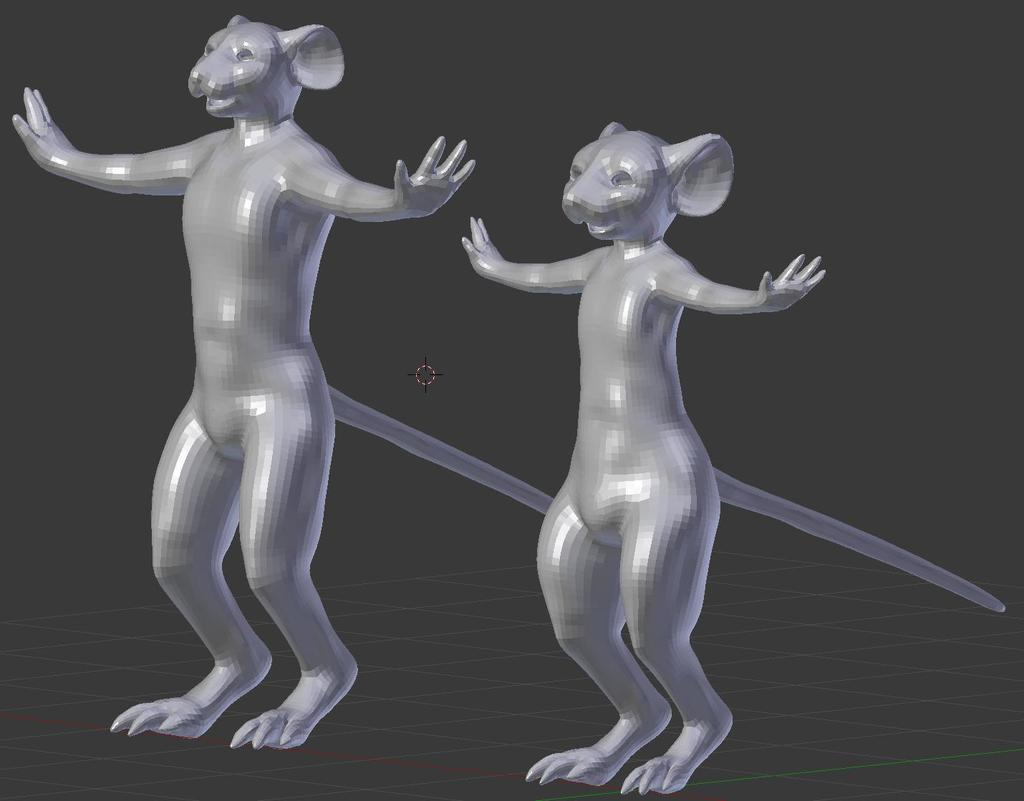 Reworking this mouse-guys shape