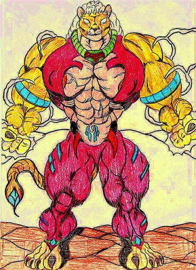 Tejio the thunder warrior