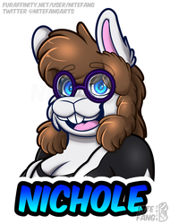 {P} Nichole 2019 Badge - Normal