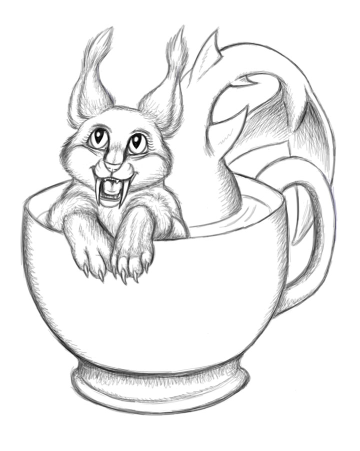 Teacup Mercat - Inks