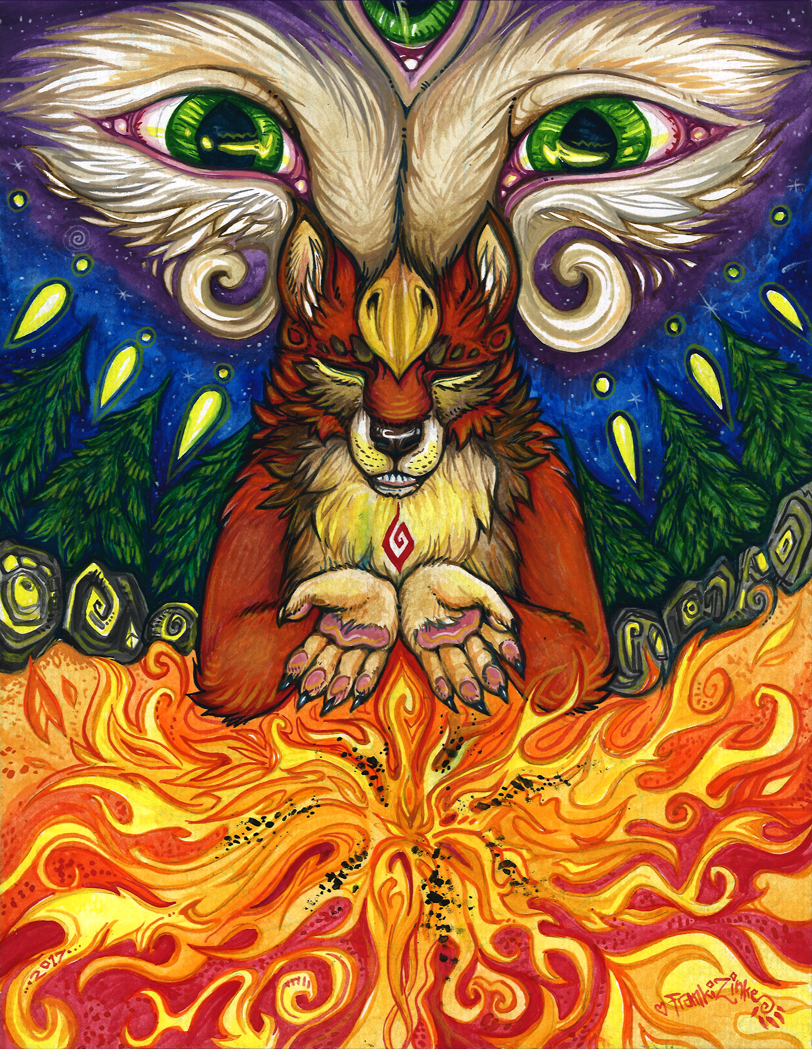 Most recent image: Fire Keeper