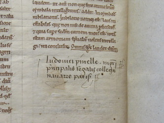 Medieval Manuscript- Early Modern Colophon
