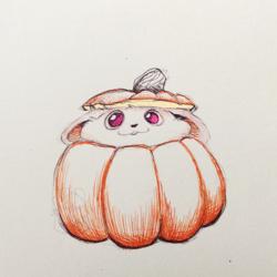BallPointPentober17 - PumpkinBun