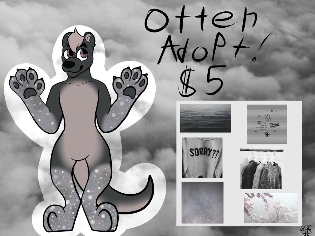 Otter adopt $5 (OPEN)