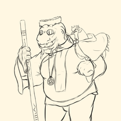 The Old Dragonborn of Travorn