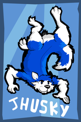 [Comm] Jhusky Badge