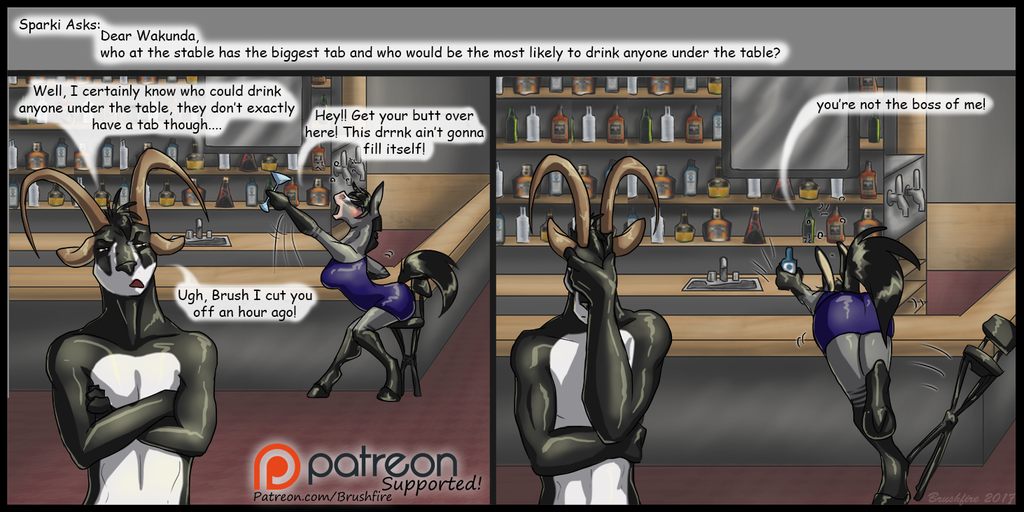 Bar Tab Patreon Question