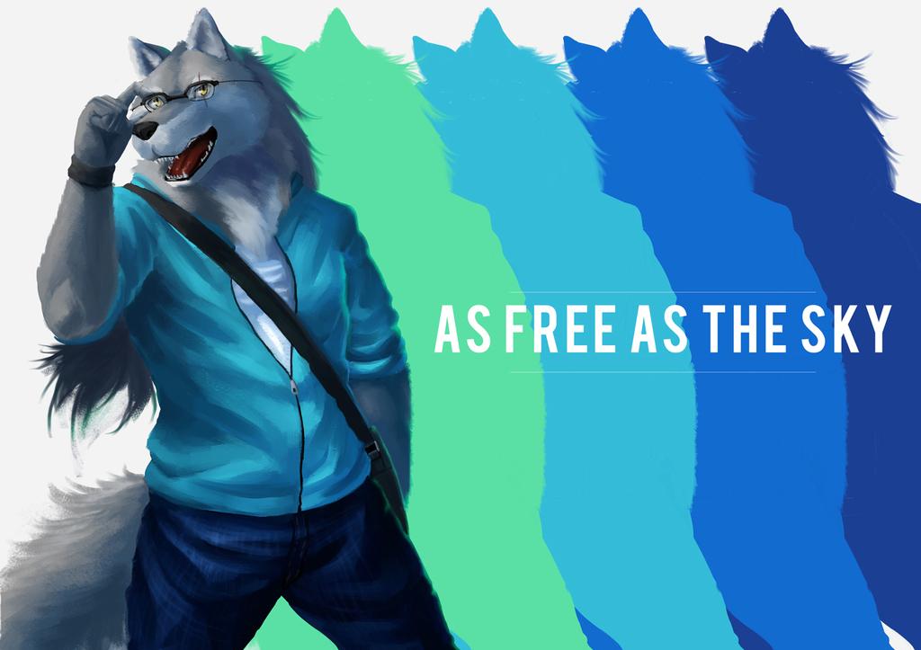 As free as the sky