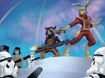Jaxxon and Rocket Raccoon, the rebel scum [C]