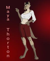 Maya Thorton 2016
