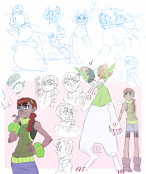 Sketchdump #4