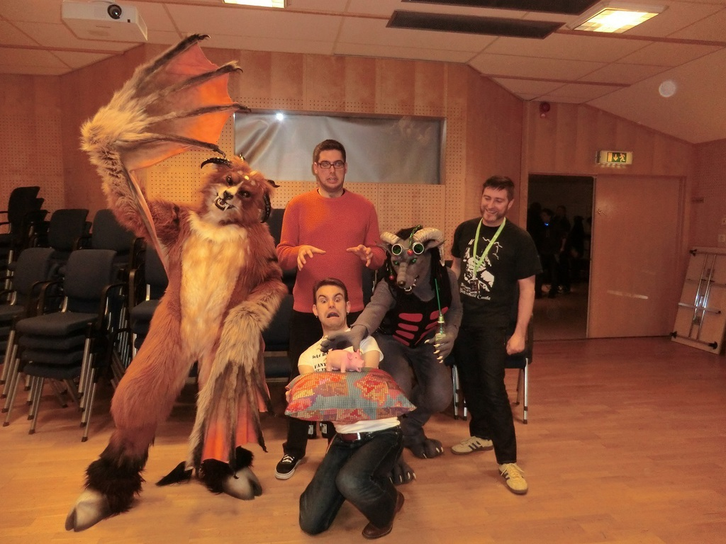 The comedy group at NFC 2014.