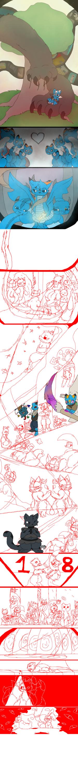 Work-in-progress sketch Sky Council