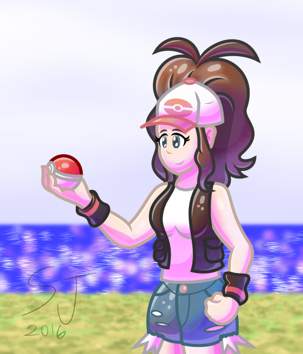Trainer Hilda wants to battle!
