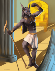 Anubis, Protector of the Dead