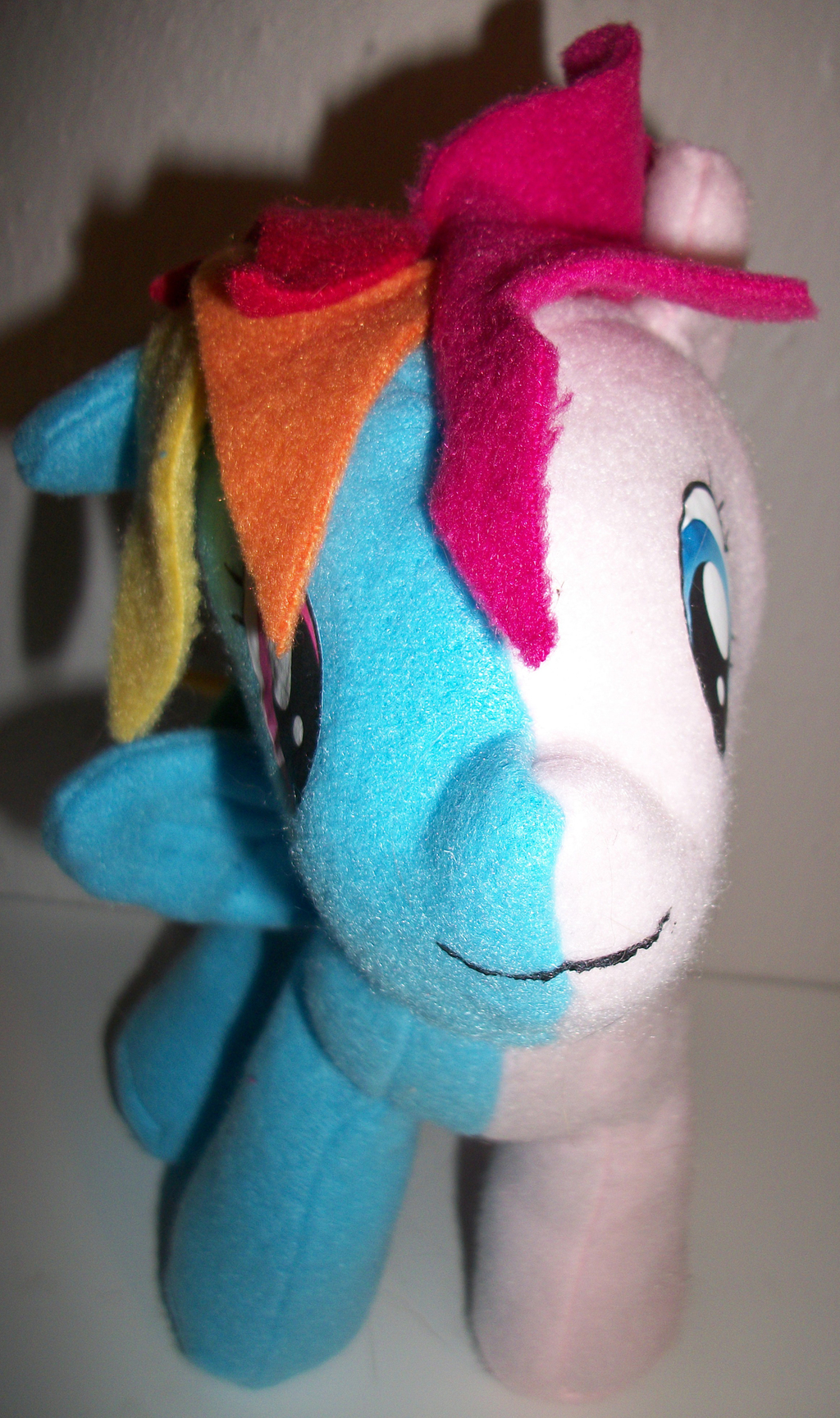 Rainbow Dash/Pinkie Pie plush toy