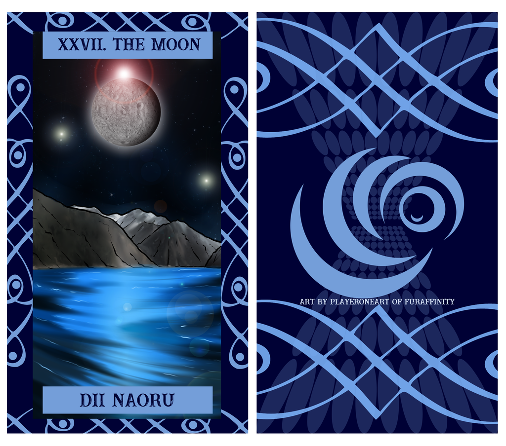 The Uragi Tarot - XXVII The Moon