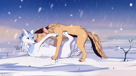 In the Snow (by Silianior)