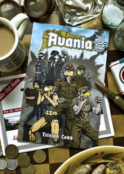 Avania - Issue 2 - Front Cover