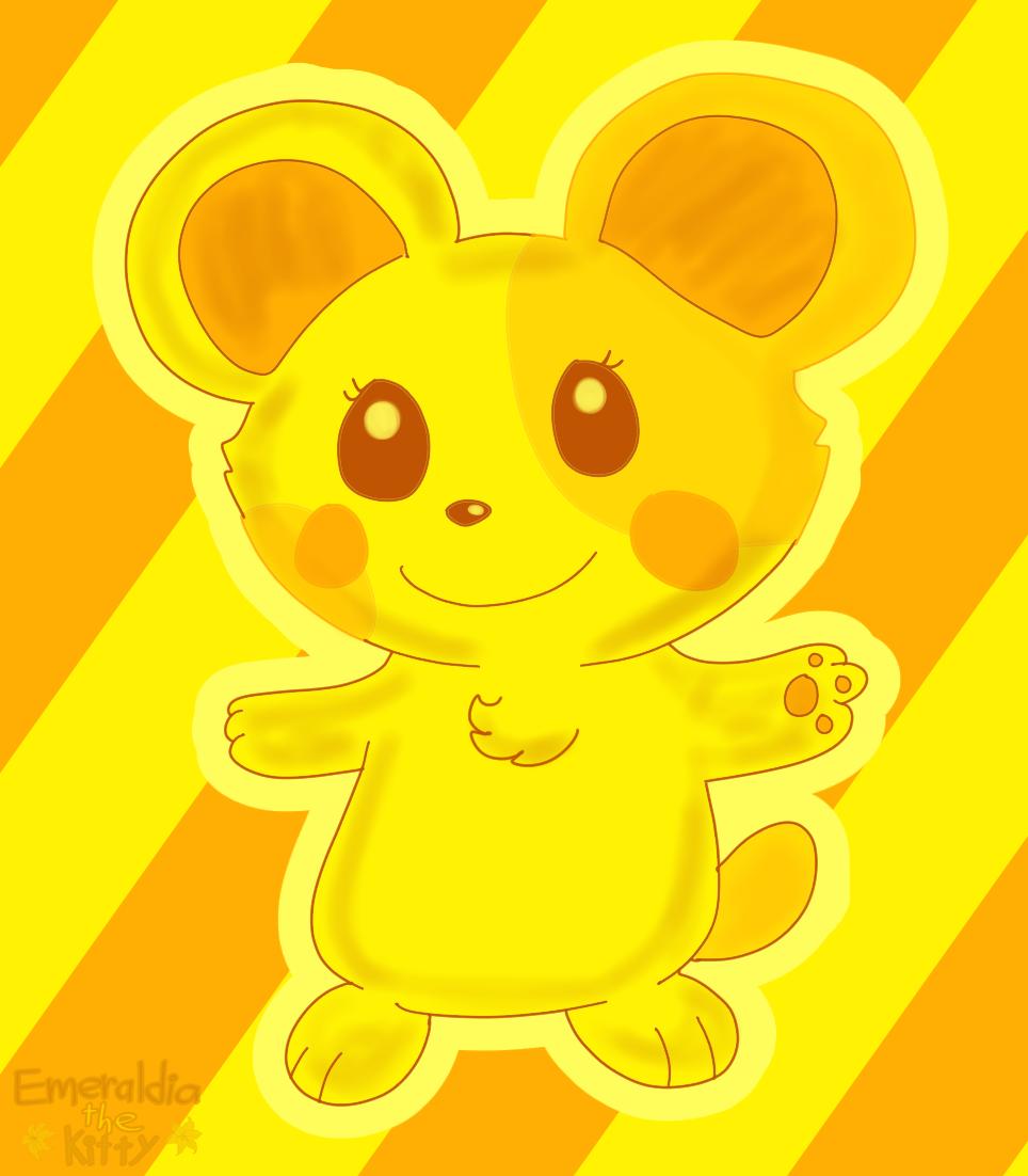 Bubble Yellow Hamster